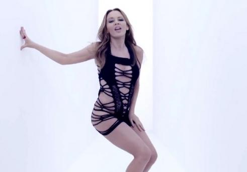 kylie-minogue-dress in Tombstone Video