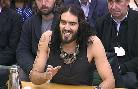 Russell Brand MTV Movie Awards